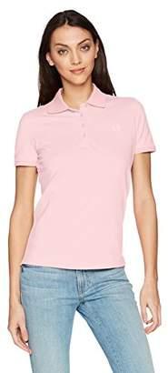 Armani Exchange A X Women's Solid Logo Polo