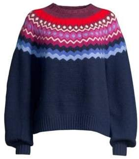 Joie Karenya Fair Isle Sweater