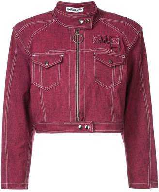 Hardeman denim biker jacket