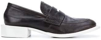 Premiata white sole loafers