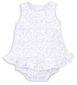 Kissy Kissy Mini Blooms Pima Cotton Bubble Bodysuit