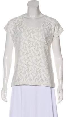 Diane von Furstenberg Acedia Lace T-Shirt