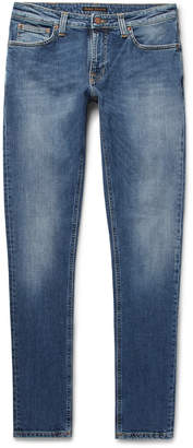 Nudie Jeans Lin Skinny Tapered Organic Stretch-Denim Jeans