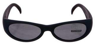 Dolce & Gabbana Tinted Oval Sunglasses