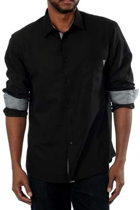 Something Strong Something in Secret Long Sleeve Slim Fit Shirt