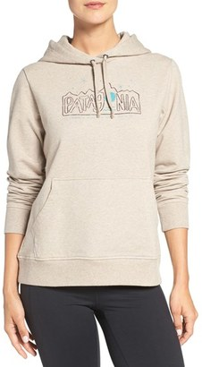 Women's Patagonia 'Moonlighters' Graphic Hoodie $79 thestylecure.com
