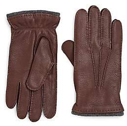 Saks Fifth Avenue Deerskin Leather Gloves