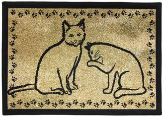 B. Smith Park Kitty Pals Tapestry Pet Rug