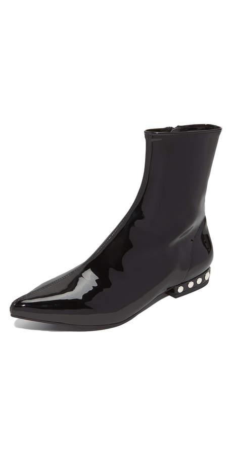 Jeffrey Campbell Tywin Studded Heel Booties