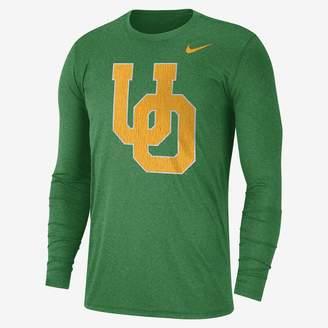 Nike College Retro Vault (Ohio State) Men's Tri-Blend Long Sleeve Top