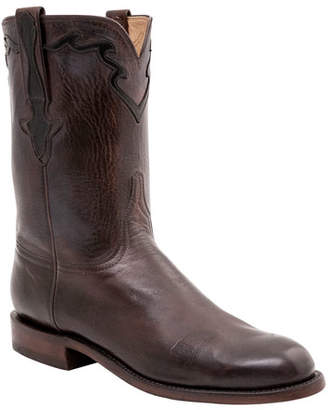 Lucchese Men's Sid Buffalo Western Cowboy Boots