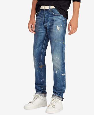 Polo Ralph Lauren Men Great Outdoors Sullivan Slim Distressed Jeans