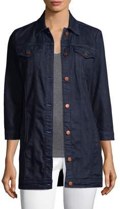J Brand Women's Button-Front Denim Jacket