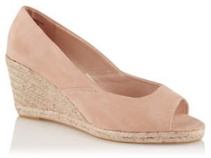 105f126b863 George Nude Peep Toe Wedge Heel Sandals