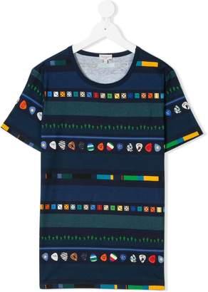 Paul Smith multi-pattern print T-shirt