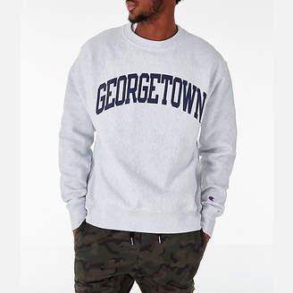 Champion Men's Georgetown Hoyas College Reverse Weave Crewneck Sweatshirt