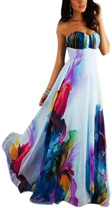 Yacun Womens Long Maxi Dress Prom Bridesmaid Evening Party Gown XL