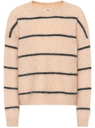 Acne Studios Rhira striped mohair-blend sweater