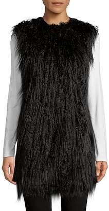 Theory Women's Nyma Faux Fur Vest