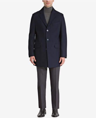 Bar III Men's Slim-Fit Overcoat, Created for Macy's