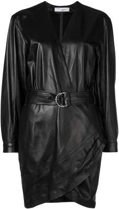 IRO belted wrap dress
