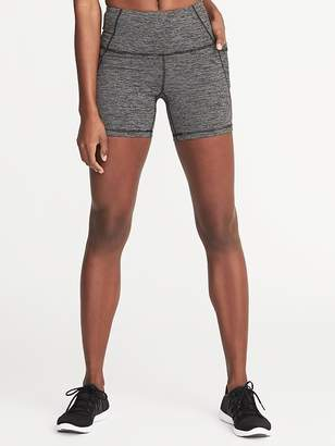 "Old Navy High-Rise Side-Pocket Compression Shorts for Women (5"")"