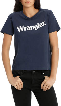 Wrangler Uptown Tee Faded Navy