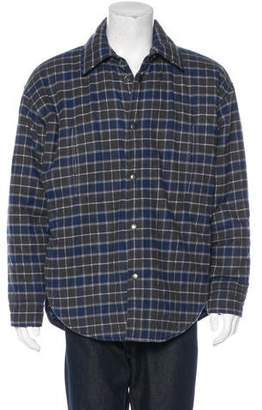 Balenciaga 2017 Plaid Jacket w/ Tags