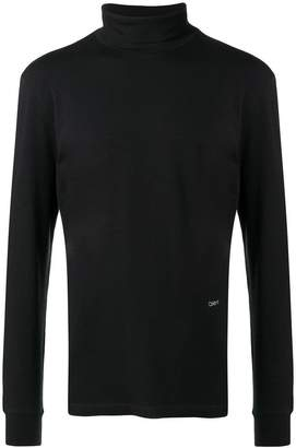 Calvin Klein turtleneck jersey top
