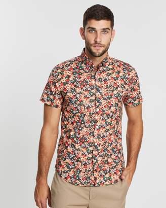 J.Crew Short Sleeve Floral Shirt