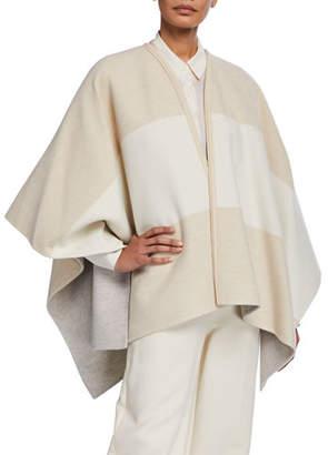 Loro Piana Mant Esme Stripes Double Cashmere Shawl