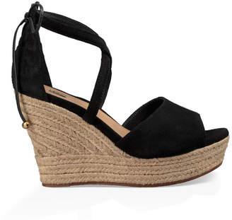 Sandales compensées Ugg en daim compensées Ugg Black ShopStyle ShopStyle UK 3c8ba1f - starwarsforcearenahackcheatonline.website