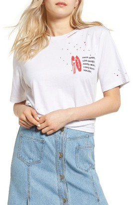 Women's Sjyp Los Angeles Tee $110 thestylecure.com