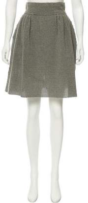 Fendi Textured Knee-Length Skirt