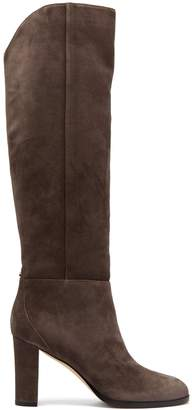 Jimmy Choo Madalie suede knee-high boots
