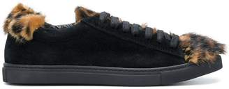 Mr & Mrs Italy leopard detail sneakers
