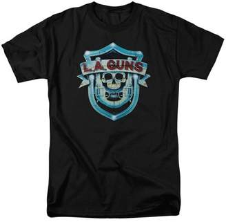 La Guns Men's La Guns Shield T-shirt Black