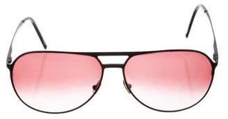 Christian Dior AJ Aviator Sunglasses