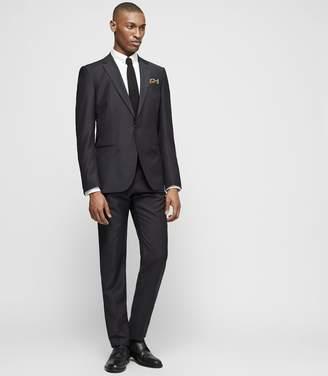 Reiss BISHOP Slim-fit wool-blend suit