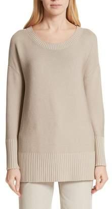 Lafayette 148 New York Cotton & Silk Sweater