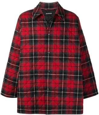 Balenciaga padded shirt jacket
