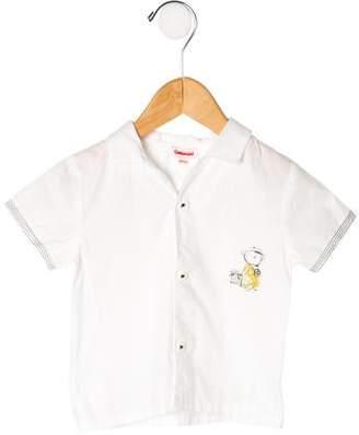 Catimini Boys' Printed Shirt