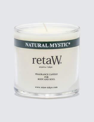 retaW Natural Mystic Fragrance Candle