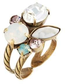 Sorrelli Intermix Crystal Ring