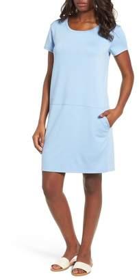 Caslon R R) Knit Shift Dress (Regular & Petite)