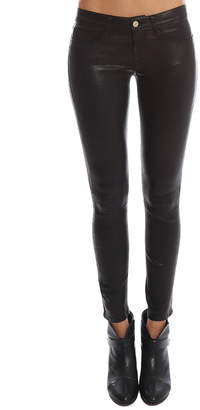 Frame Le Skinny Leather Pant