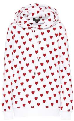 Burberry Heart cotton-blend hoodie