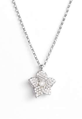 Kate Spade Blooming Pave Mini Pendant Necklace