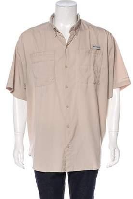 Columbia Short Sleeve Button-Up Shirt