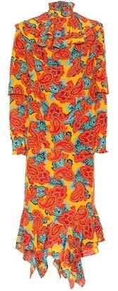 J.W.Anderson Paisley-printed silk dress